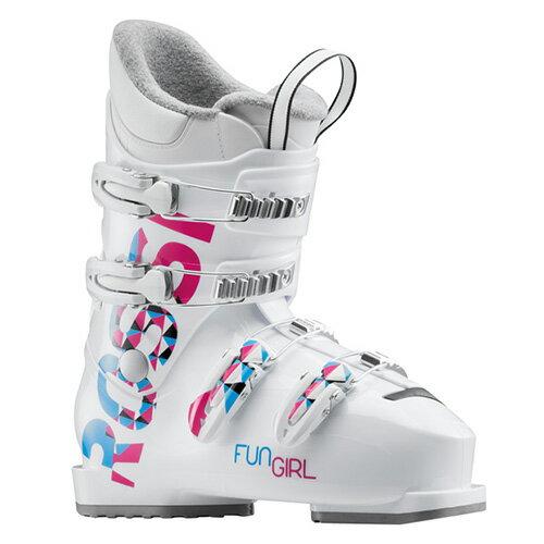 ポイント10倍 12/26 13時まで! スキーブーツ NEWモデル ROSSIGNOL ロシニョール ジュニア FUN GIRL J4 RBG5080 子供用 こども 18-19モデル