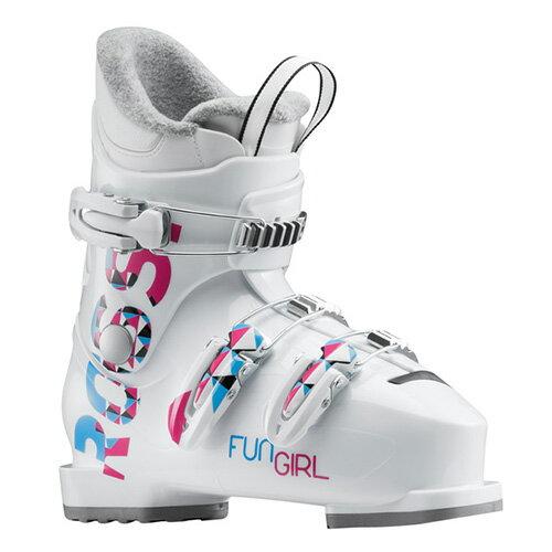 【クーポン配布中】スキーブーツ NEWモデル ROSSIGNOL ロシニョール ジュニア FUN GIRL J3 RBG5130 子供用 こども 18-19モデル