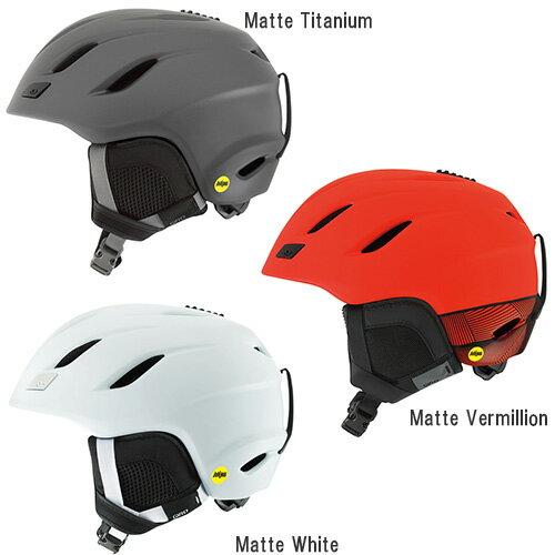 GIRO ジロ ヘルメット NINE MIPS〔アジアンフィット〕 17-18モデル スキー スノーボード