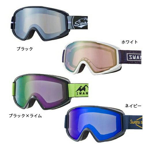SWANS スワンズ スキー ゴーグル 100-MDH 18-19モデル メガネ めがね 対応 スノーボード