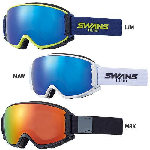 SWANS スワンズ スキー ゴーグル ROVO-MPDH-SC-MIT-PAF 17-18モデル スノーボード