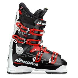 スキーブーツ NORDICA ノルディカ スキー ブーツ SPORTMACHINE 90 BLACK/WHITE/RED メンズ レディース 19-20モデル 新作
