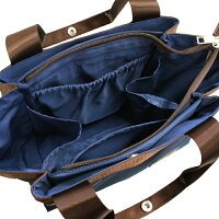 【高密度ナイロン素材の多機能ショルダーバッグ!】なんとポッケは10個つき!おしゃれも機能も諦めない人のためのショルダーバッグ!リベルテ