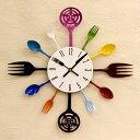 掛け時計 キッチン【時計 壁掛け時計 掛時計 時計 クロック 時計 壁 インテリア時計 キッチン キッチン雑貨 おもしろ…