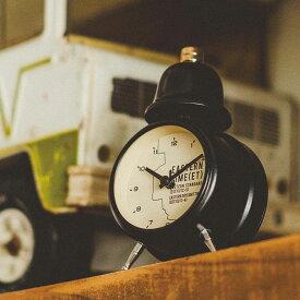 置き時計 目覚まし時計 イースタン タイム インターフォルム interform cl-1477【ステップムーブメント 置時計 ベル アラーム クロック 子供 北欧 レトロ シンプル 男前 かわいい おしゃれ 結婚祝い ギフト アナログ プレゼント 新生活 テレワーク 在宅 時計 可愛い】