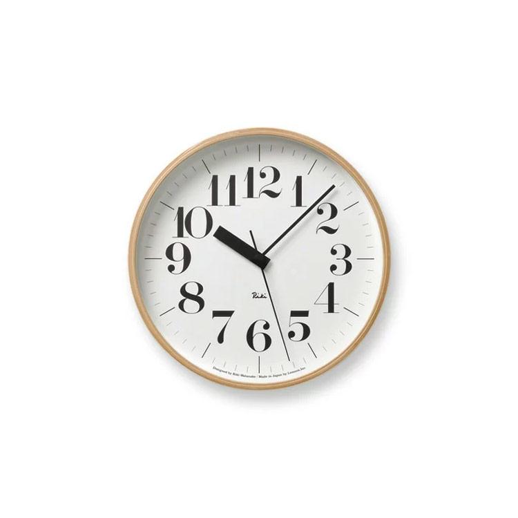【送料無料】壁掛けフック特典有★電波時計 リキクロック RIKI CLOCK RC WR07-11【壁掛け時計 時計 掛け時計 インテリア時計 おしゃれ 壁掛け電波時計 壁掛け シンプル 北欧 テイスト 渡辺力 デザイナーズ デザイン 見やすい ウォールクロック ギフト プレゼント】