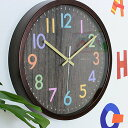 【送料無料 ポイント10倍】掛け時計 フレデリカ W-620【連続秒針 スイープ 静音 音がしない 壁掛け時計 おしゃれ 木製…