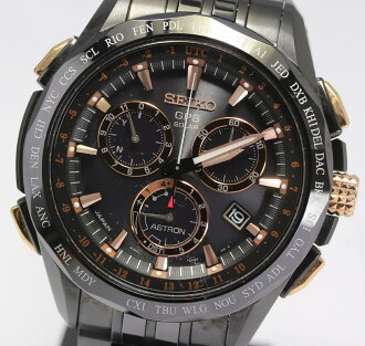With 3,000-limited ☆ SEIKO ASTRON ass Tron 2014 resort limitation model SBXB019 8X82-0AD0 solar GPS satellite electric wave men watch box, warranty, rest piece