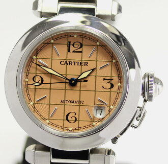 With Cartier pasha C W31024M7 orange system clockface self-winding watch men gap Dis Boys (man and woman combined use) watch box