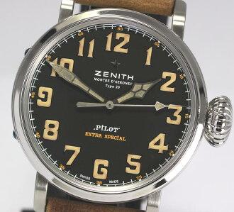 ☆有限定36部☆Zenith飞行员型20专刊03.2431.3000/22.C738自动卷人手表/箱子