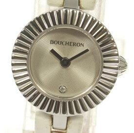 ☆良品【Boucheron】ブシュロン マジョリー 1Pダイヤ WA012509 クォーツ レディース【中古】