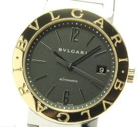 ☆良品【BVLGARI】ブルガリ ブルガリブルガリ デイト BB38SG 自動巻き メンズ【中古】