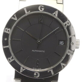 【BVLGARI】ブルガリ ブルガリブルガリ デイト BB33SS 自動巻き メンズ【中古】