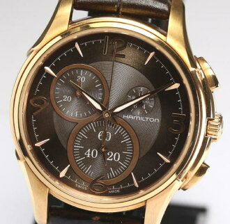 H323420 chronograph brown clockface men QZ