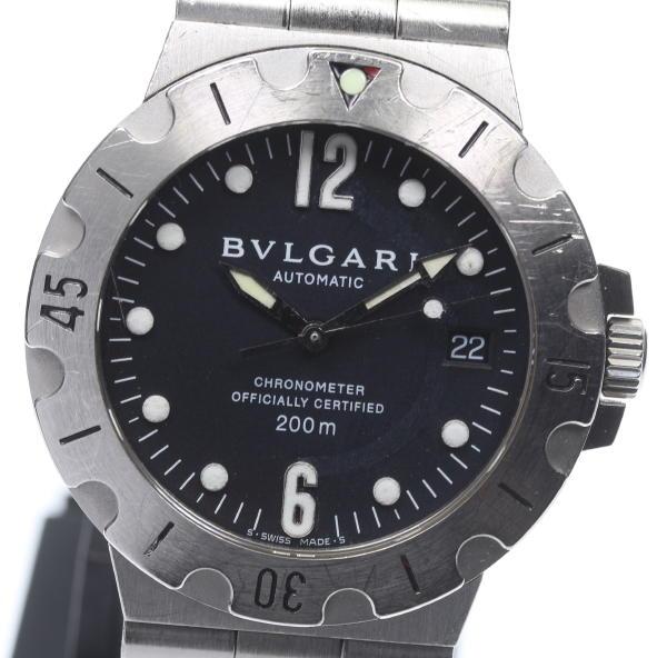 【BVLGARI】ブルガリ ディアゴノスクーバ SD38S 自動巻き メンズ【中古】