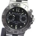 【ブルガリ】ディアゴノスクーバ SCB38S 自動巻き ラバー メンズ腕時計◆ 【中古】【170810】