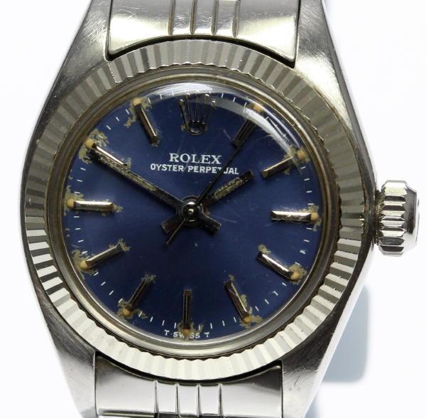 【ROLEX】ロレックス オイスターパーペチュアル 6719 cal.2030 自動巻き レディース【中古】【170920】
