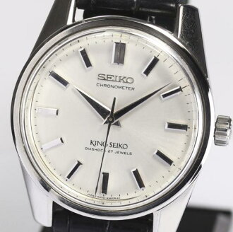 SEIKO Sei King Coe 4420-9990 second latter term rolling by hand men