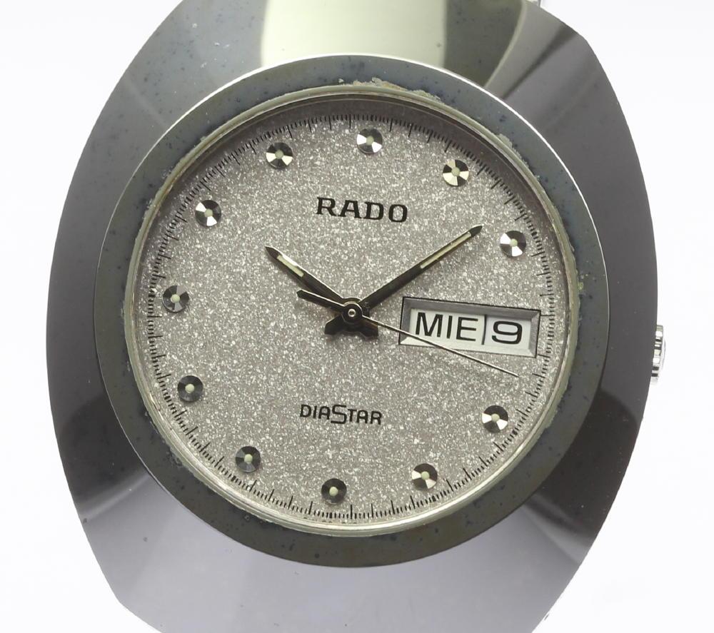 【RADO】ラドー ダイヤスター デイデイト 114.0391..3 クォーツ メンズ【中古】