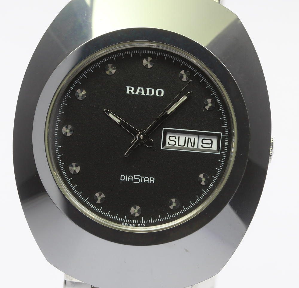 RADO ラドー ダイヤスター 114.0391.3 クォーツ デイデイト メンズ腕時計 ◆【171124】【18025】【中古】