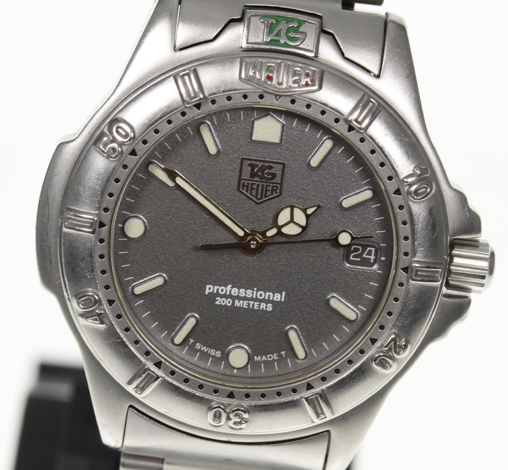 【TAGHEUER】タグホイヤー プロフェッショナル 999.213A クォーツ ボーイズ☆【中古】【171124】