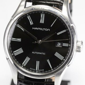 Hamilton jazz master H395150 self-winding watch leather belt men★