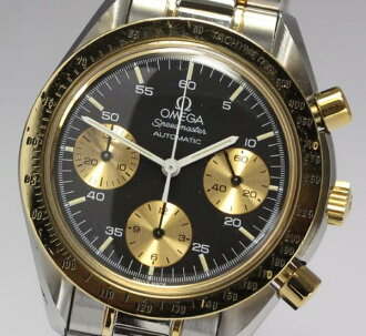 Omega speed master Ref .175.0033 YG bezel AT men