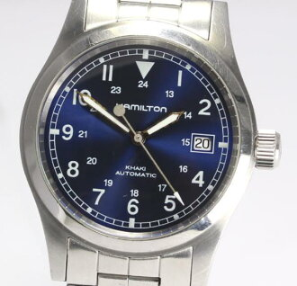 Hamilton khaki 000093 see-through back self-winding watch men
