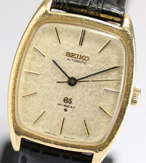 SEIKO ground SEIKO 5641-5000 K18YG 56GS high beat