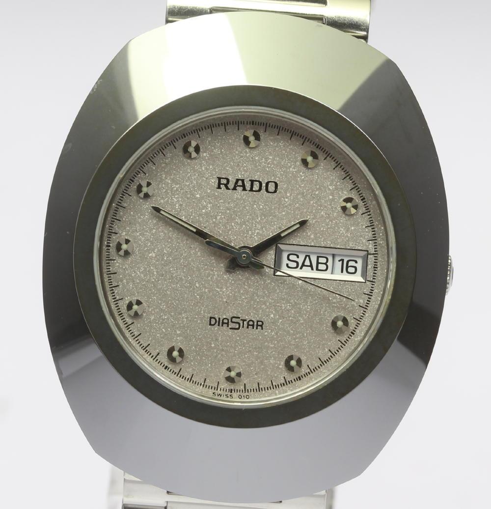 RADO ラドー ダイヤスター 114.0391.3 クォーツ ラウンドフェイス メンズ【180329】