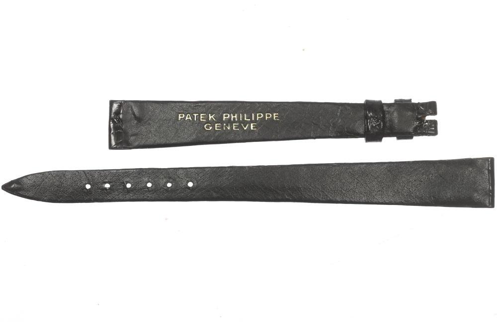 未使用品!パテック・フィリップ PATEK PHILIPPE ラグ幅13mm レディース用革ベルト☆【180413】【中古】