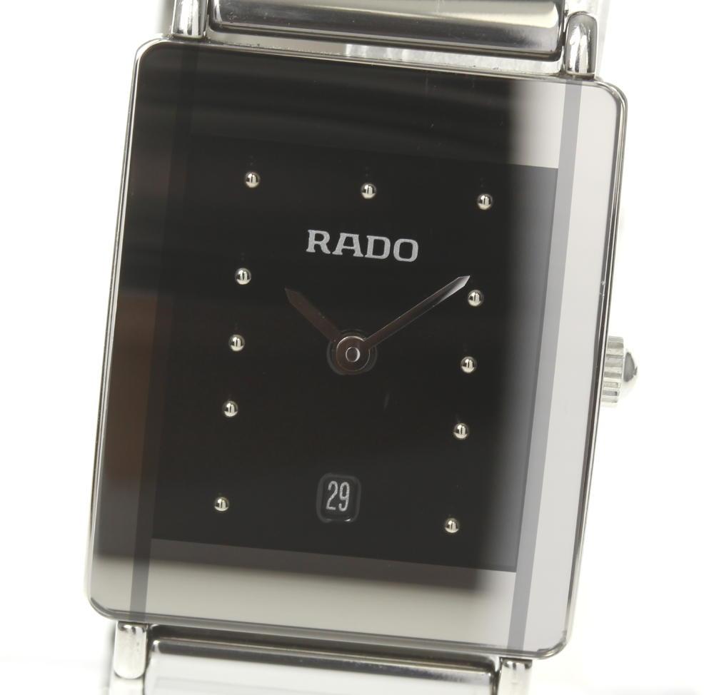 【RADO】ラドー ダイアスター 160.0486.3 SS×セラミック QZ メンズ【中古】
