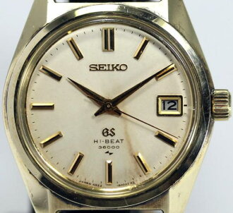 SEIKO ground SEIKO 4522-8000 cap gold rolling by hand