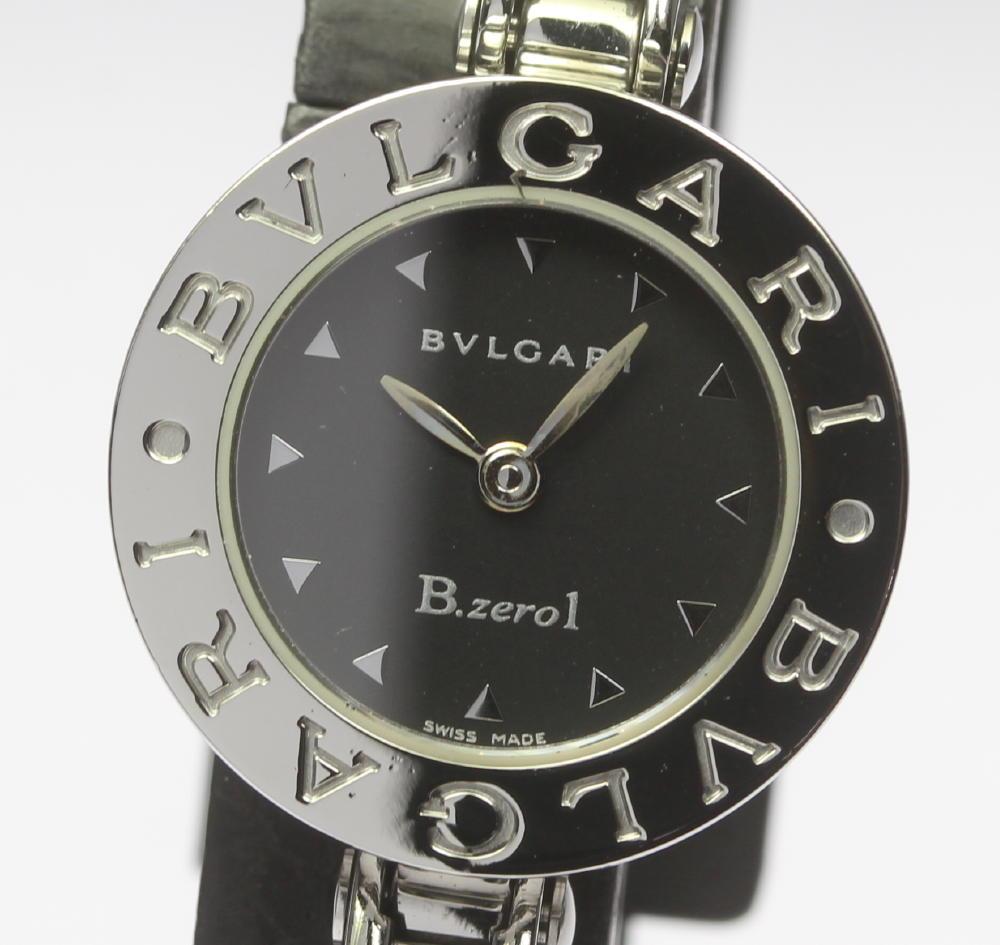 【BVLGARI】 ブルガリ BZ22S B-zero1 バングル クォーツ レディース【中古】