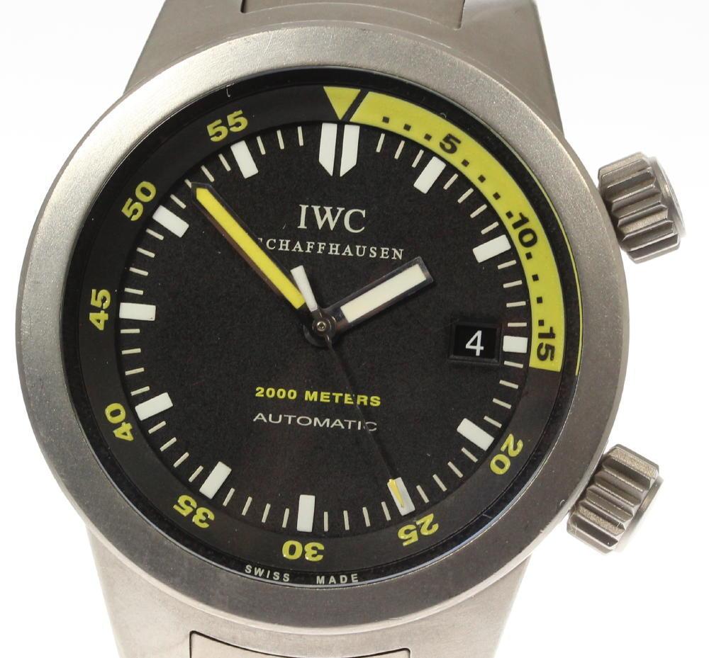 【IWC】アクアタイマー 2000 IW353804 チタン 自動巻き メンズ【180914】