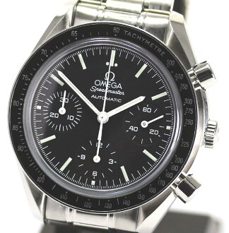 With omega speed master 3539.50 chronograph SS breath self-winding watch men watch box