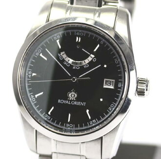 Royal orient EK00-C0 power reservation self-winding watch men ★
