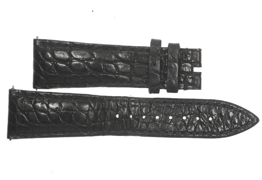 【FRANCK MULLER】フランクミュラー ラグ幅 22 mm 黒 腕時計用革ベルト【中古】