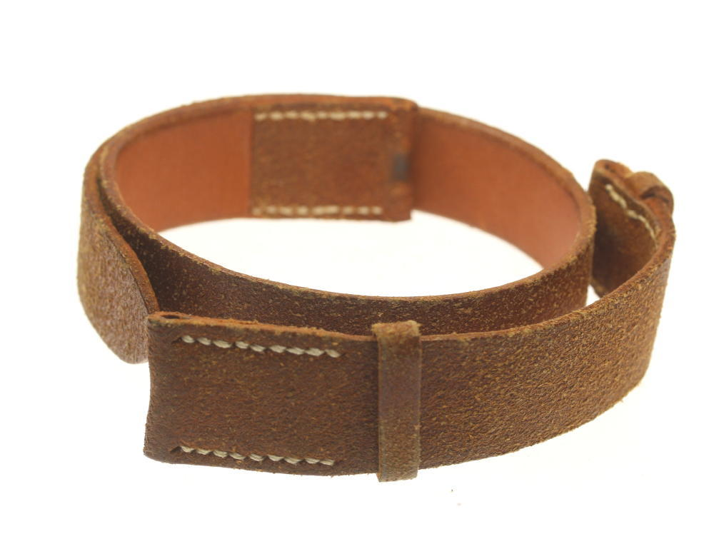 【HERMES】エルメス ラグ幅19mm ドゥブルトゥール スエード 腕時計用 革ベルト【中古】