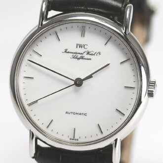 IWC port fino IW3513-20 round self-winding watch men watch