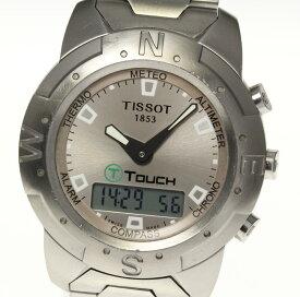 【TISSOT】ティソ Tタッチ Z251/351 デジアナ クォーツ メンズ【2034】【ev05】【中古】
