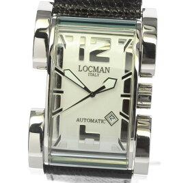 箱保付き【LOCMAN】ロックマン ラテンラバー Ref.500 自動巻き 革ベルト メンズ【中古】【190906】