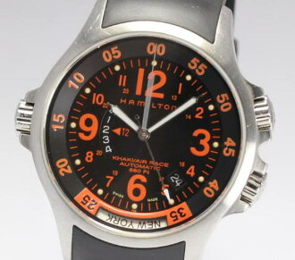 Hamilton khaki air race GMT H776650 self-winding watch men
