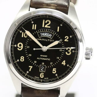 Hamilton khaki field D date H70505833 self-winding watch◎