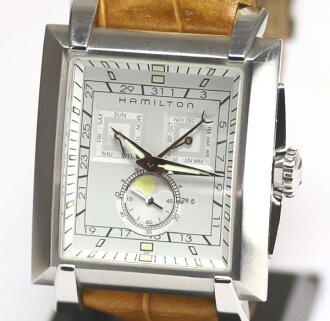 Hamilton moon phase H304100 quartz men avian boyfriend