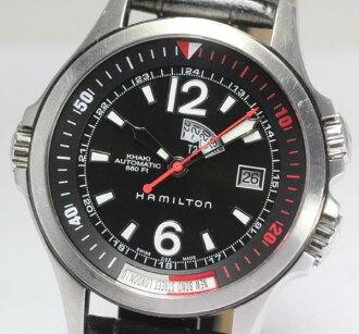 Hamilton khaki GMT H775550 inner bezel self-winding watch men☆