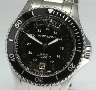 Hamilton khaki scuba diving equipment H645150 D date self-winding watch men