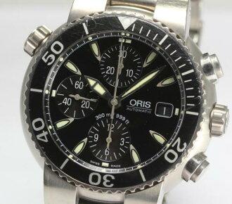 Cages TT1 divers chronograph titanium 7542 AT men