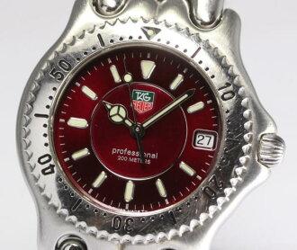 태그호 이어 셀 WG111F 쿼츠 맨즈 손목시계