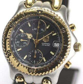 It is タグホイヤーセルクロノグラフ CG2121-RO self-winding watch men quality goods